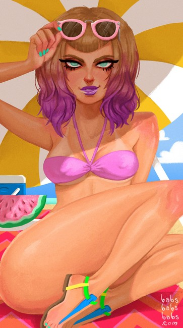 Babs_Tarr__Neon_Summer